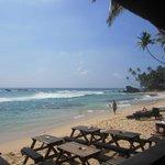 local beach (not Unawatuna)