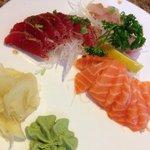 Large sashimi plate