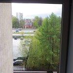 Вид из окна (номер 501) в сторону Ярославского шоссе