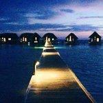 cocoa island at dusk