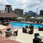 HI hotel pool