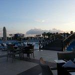 Uitzicht eetzaal Kahya resort