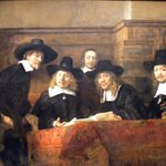 The Guild of Amsterdam Drapers [Rembrandt}