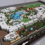 Plan du complexe hôtelier