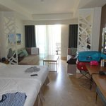 spacious and clean room