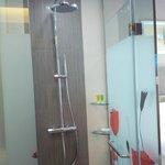 Decent water pressure and temperature control