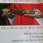 The relic of the true blood of Jesus