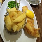 Crispy fish n chips