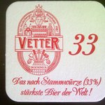 Vetter 33, the strongest beer in the world
