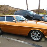 A Volvo P 1800 , Exotic !!