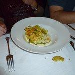 Primo piatto, lasagnetta vegetariana