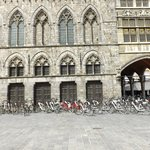 Bicycles for hire in Ypres