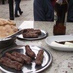 Kebabs & roasted peppers