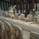 A Plough Barn Wedding Breakfast, Leigh, Kent