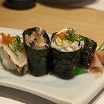 Fugu sushi gunkan