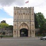 Entrance to Abbey Gardens