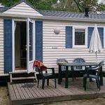 mobile homme 2 chambres avec terrasse