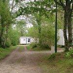 espace extérieur du camping