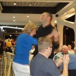 Mum having a dance