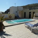 Roof top plunge pool