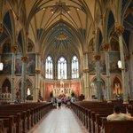 Inside St. John the Baptist Catholic Church