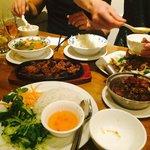 'bun', fish and viet curry yum!