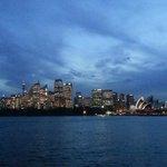 Spectacular Sydney at sunset