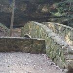 Stone bridge at Old Mans Cave