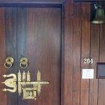 Room's door!
