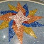 Lobby mosaic