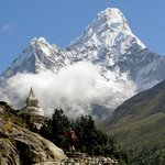 Everest Base Camp trek - view of Mt. Amadablam!