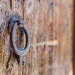 Detalles de la puerta de entrada