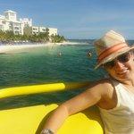 Playa Caracol vista da balsa da Ultramar