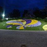 Horloge Fleurie in Jardin Anglais