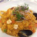 Delicioso arroz peruano