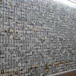de muur met foto's