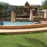 Tropicana pool and bar