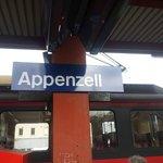 สถานีรถไฟ นั่งจาก St.Gallen 45นาที