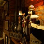 Decoration inside the bar