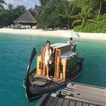 Dhooni to the Island Spa