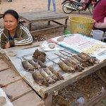 Market in the nearby Nahin village
