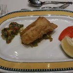 fish course