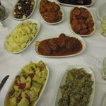 A delicious selection of Spiliada mezes