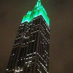 The Hotel Metro is situated right under the Empire State building.