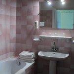 Goedfunctionerende schone badkamer