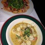 Carpaccio di Salmone / Shrimp & Bay Scallops