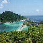 point de vue de Koh Nang Yuan