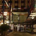 Vue extérieure de l'hôtel