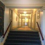 The corridor.