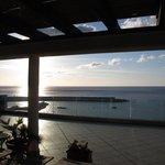 Lever de soleil du toit solarium photo 2 sur 3